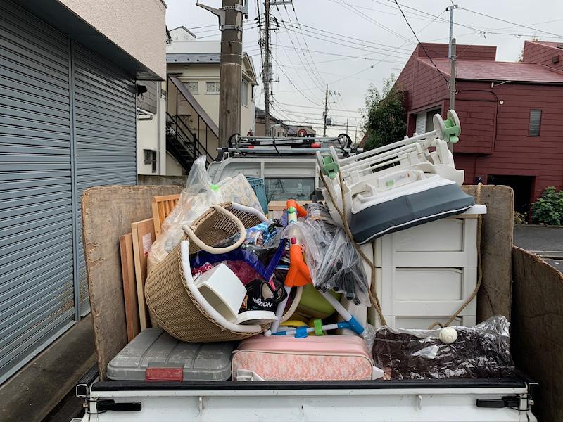 軽一杯パックにて回収いたしました。東京都大田区の写真