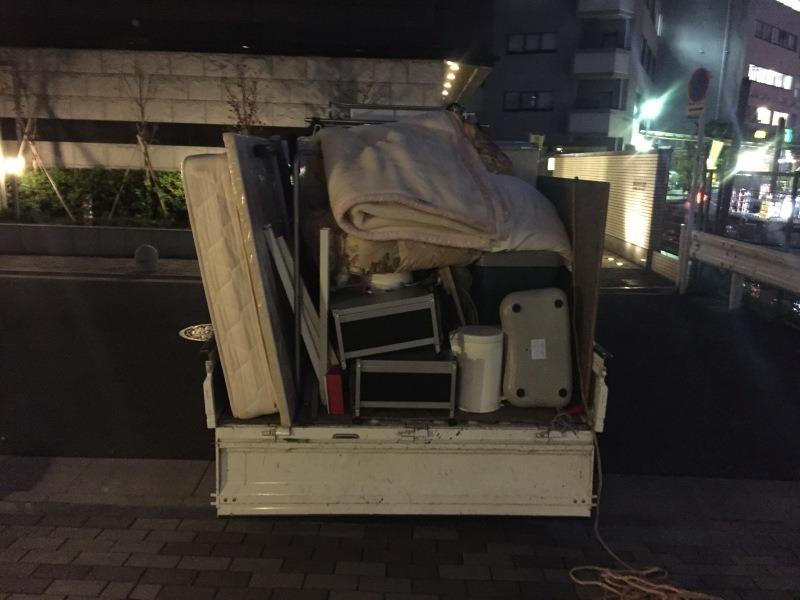 お引越の不用品の回収処分、買取(渋谷区)1