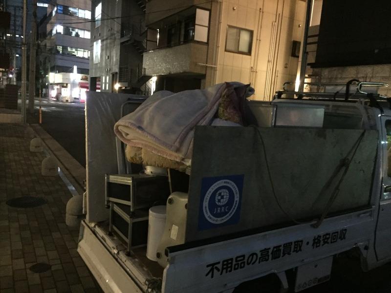 お引越の不用品の回収処分、買取(渋谷区)3