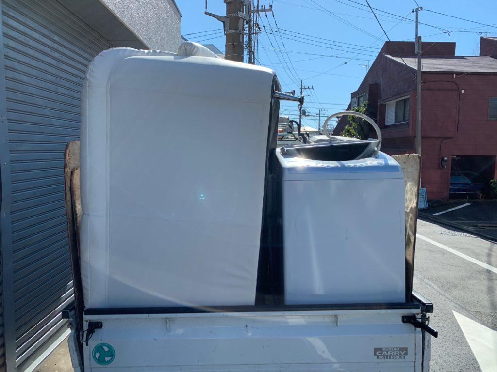 お引越し前の不用品を回収してまいりました。(渋谷区)の回収した物の写真