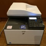 SHARP MX-C300W レザープリンターの写真