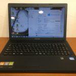 lenovo G500 ノートパソコンの写真