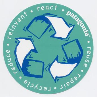 reuse・repair・recycle・reduce・reinbent・react画像