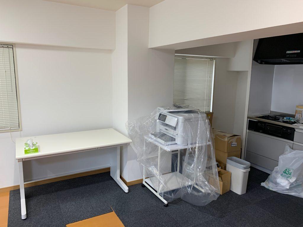 オフィス家具の回収(渋谷区)作業前の写真3