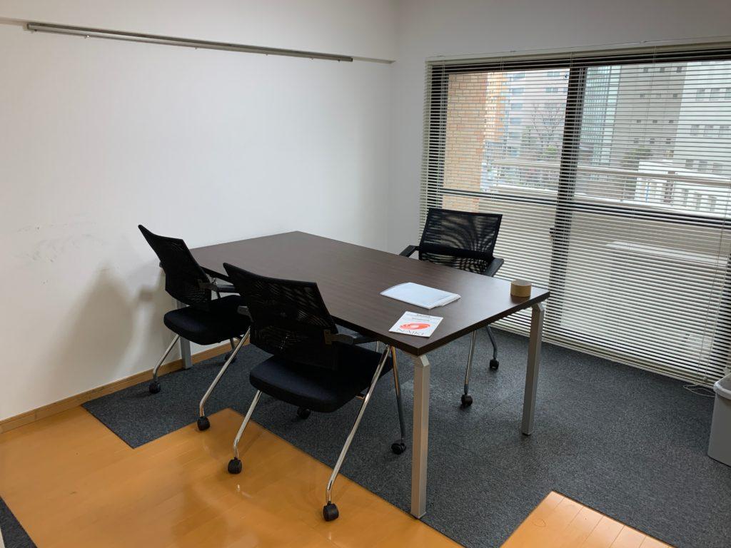 オフィス家具の回収(渋谷区)作業前の写真1