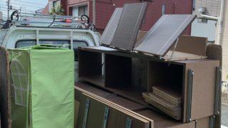 大型の本棚を回収(世田谷区)の写真1