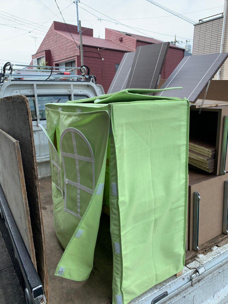 大型の本棚を回収(世田谷区)の写真2