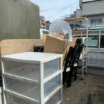 軽トラック半分パックにて不用品を回収(品川区)の写真