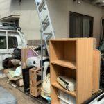 軽トラ半分パックにて不用品(家具、家電等を回収(川崎区)川崎市の写真