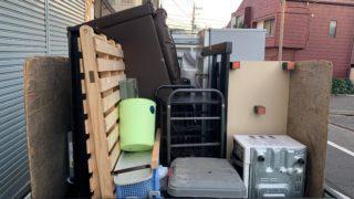 軽トラック一杯パックにて不用品を回収(川崎区)川崎市の写真1