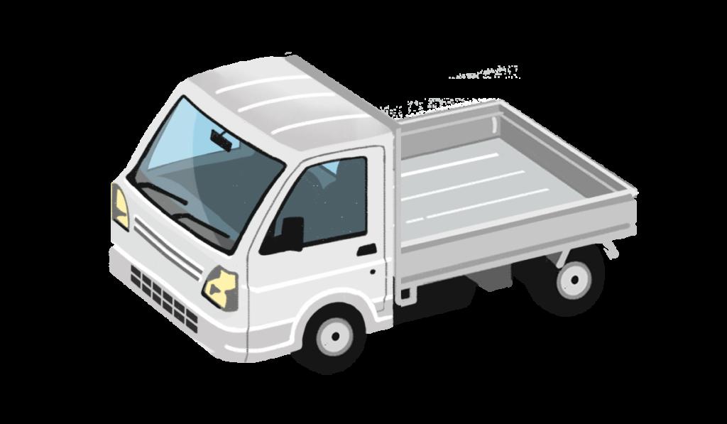 軽トラックの絵