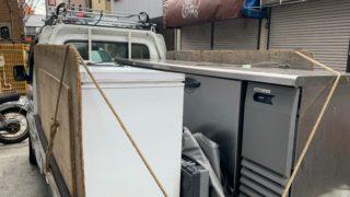 店舗閉店の為の処分と荷物移動(大田区)(中原区)の写真1