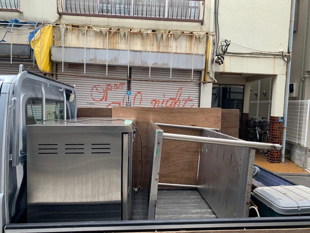 店舗閉店の為の処分と荷物移動(大田区)(中原区)の写真3