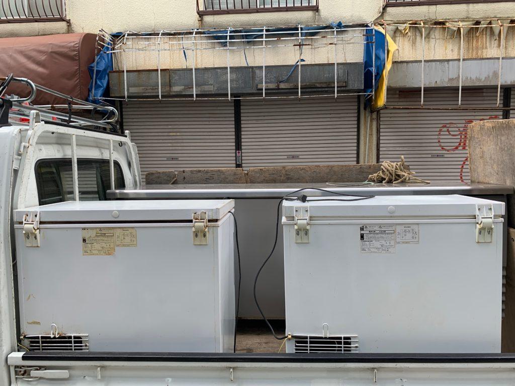 店舗閉店の為の処分と荷物移動(大田区)(中原区)の写真2
