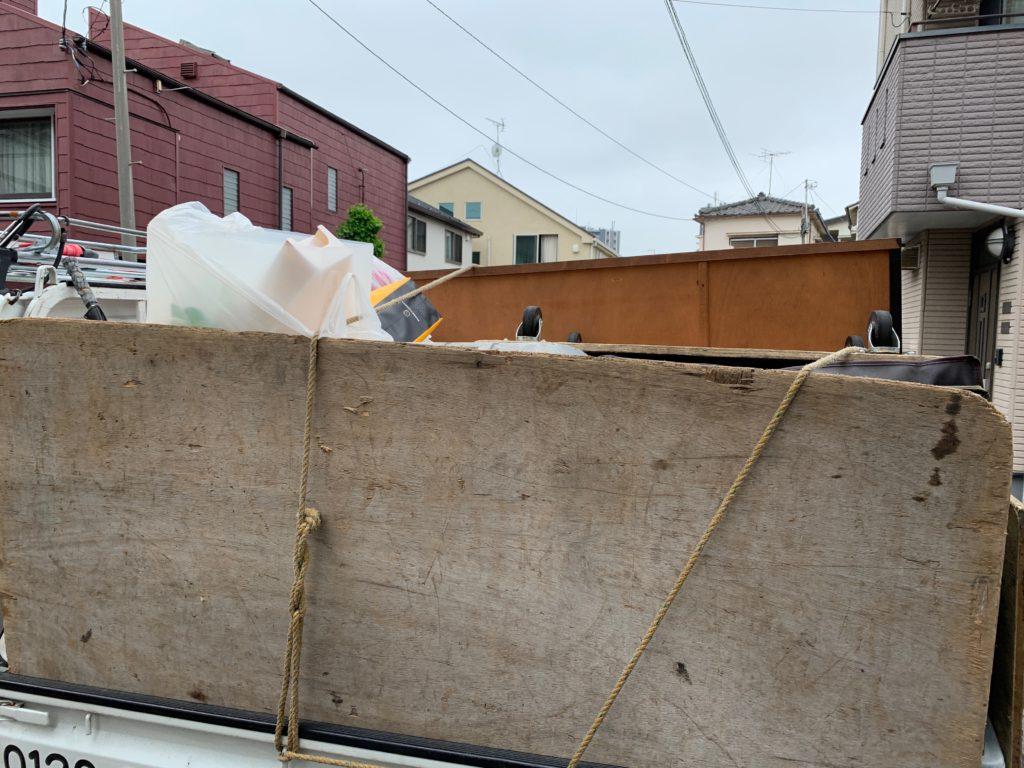 軽トラック一杯パックにて回収 中原区(川崎市)の写真2