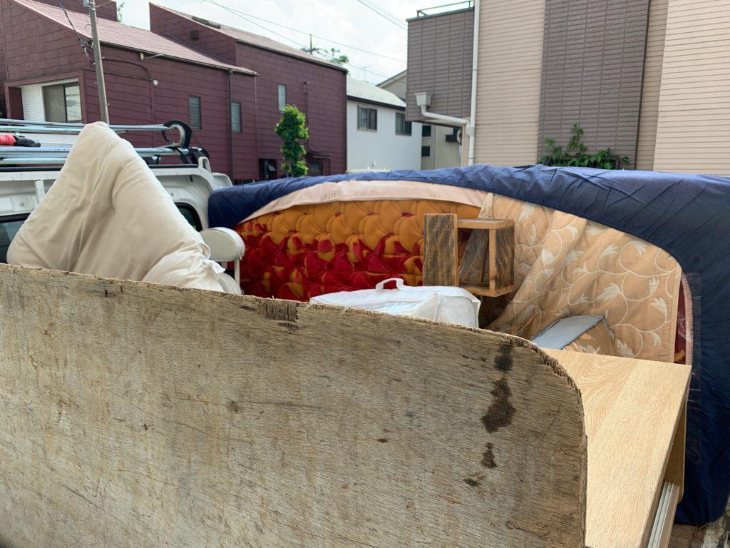 軽トラック一杯パックにて回収(千代田区)の写真2