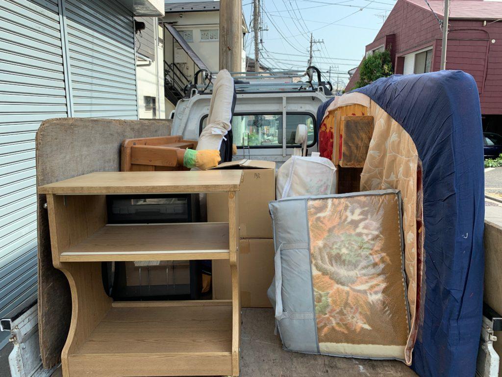 軽トラック一杯パックにて回収(千代田区)の写真1