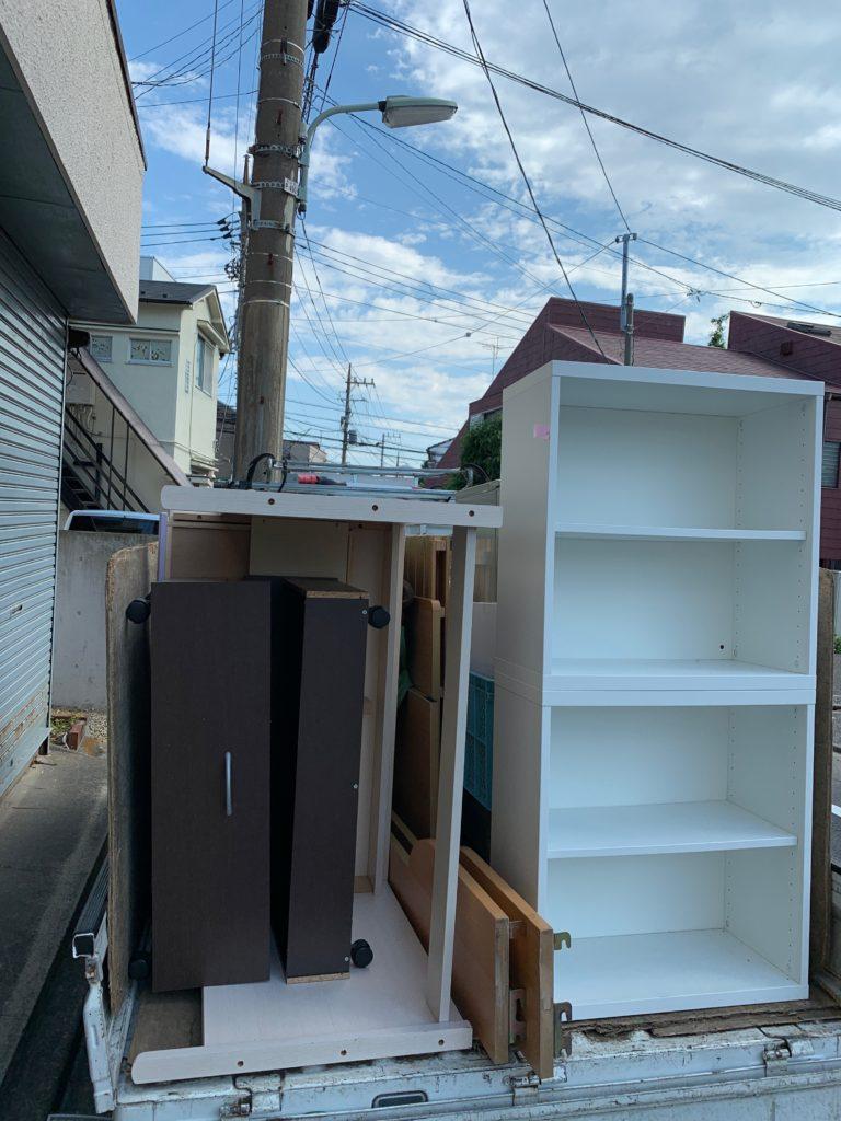 軽トラック一杯パックにてお引越し前の不用品を回収(大田区)の写真3