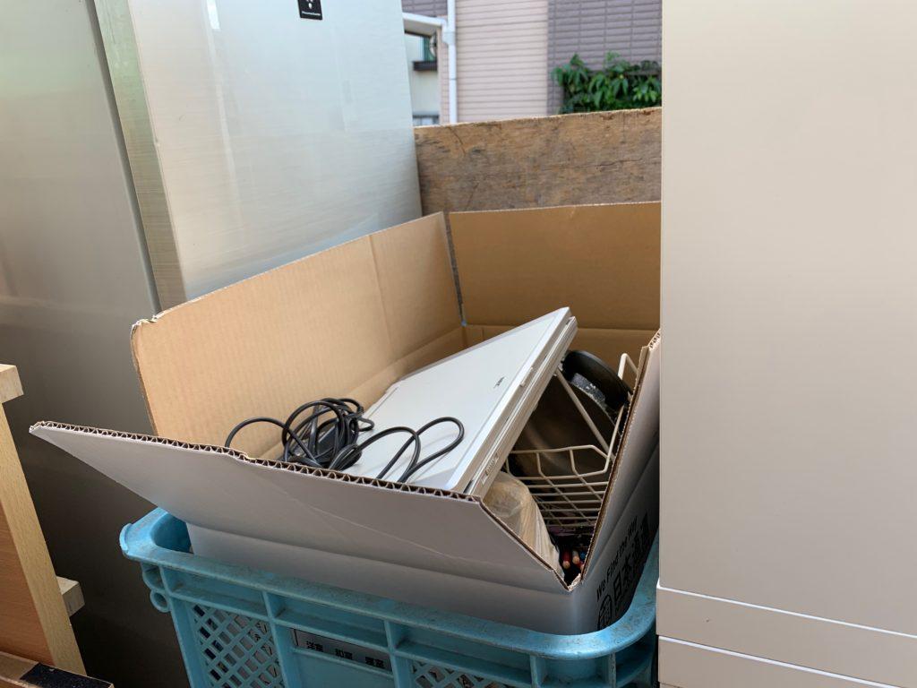 軽トラック一杯パックにてお引越し前の不用品を回収(大田区)の写真2