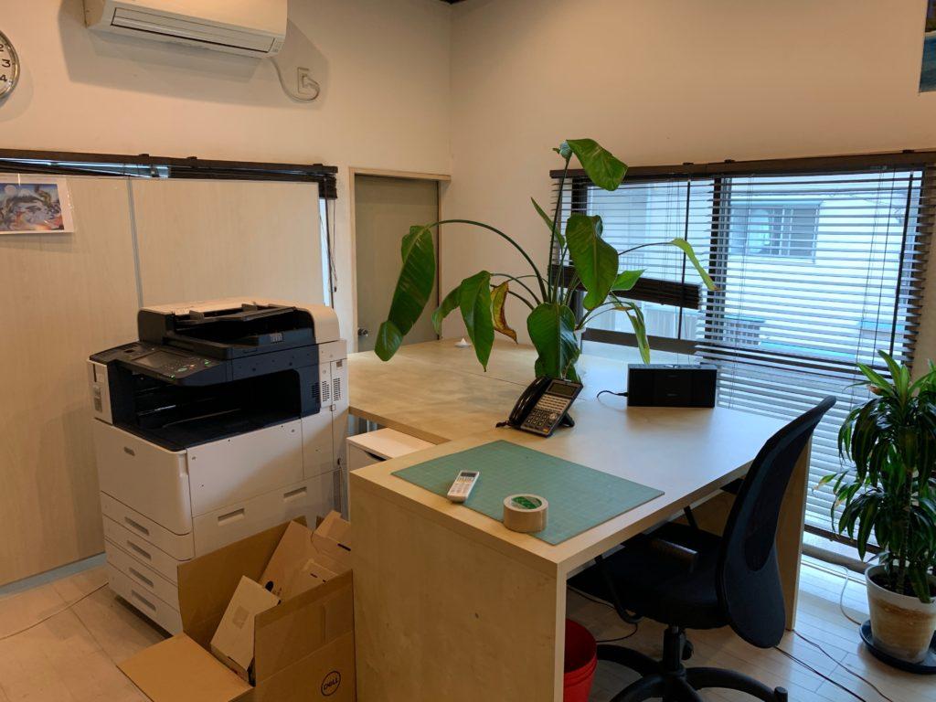 品川区、オフィス(事務所)の不用品の写真1