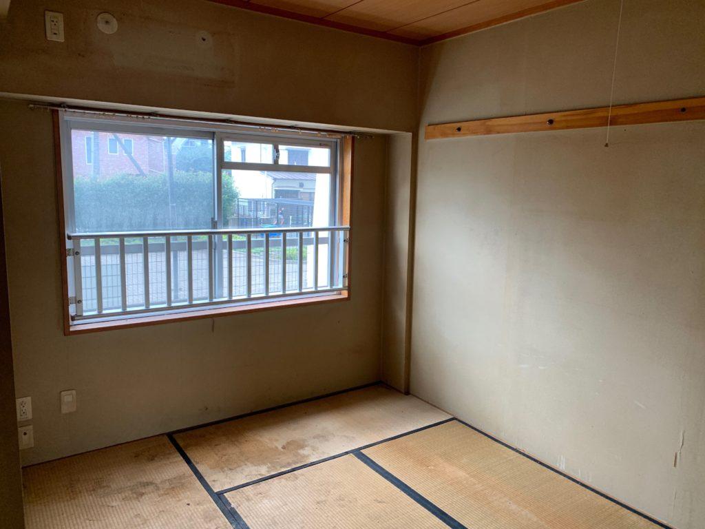 大田区マンション一室の残置物処分後の写真3