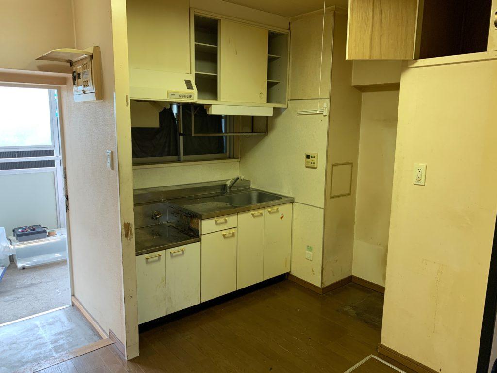 大田区マンション一室の残置物処分後の写真2