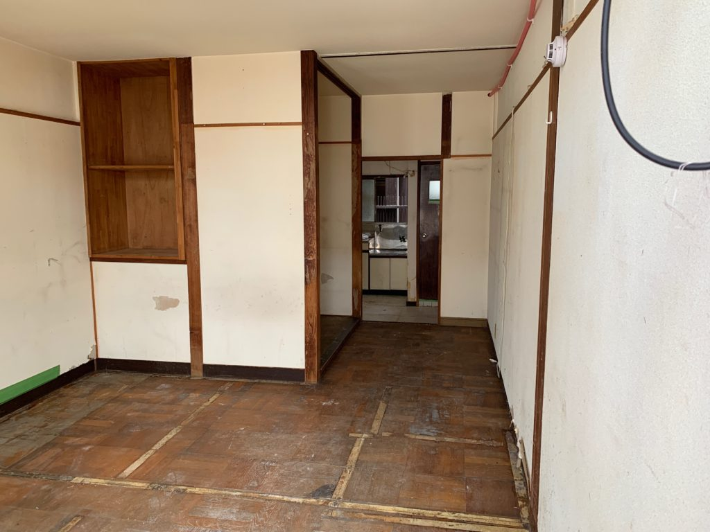 残置物処分の回収撤去後の写真(世田谷区)(3F洋室)