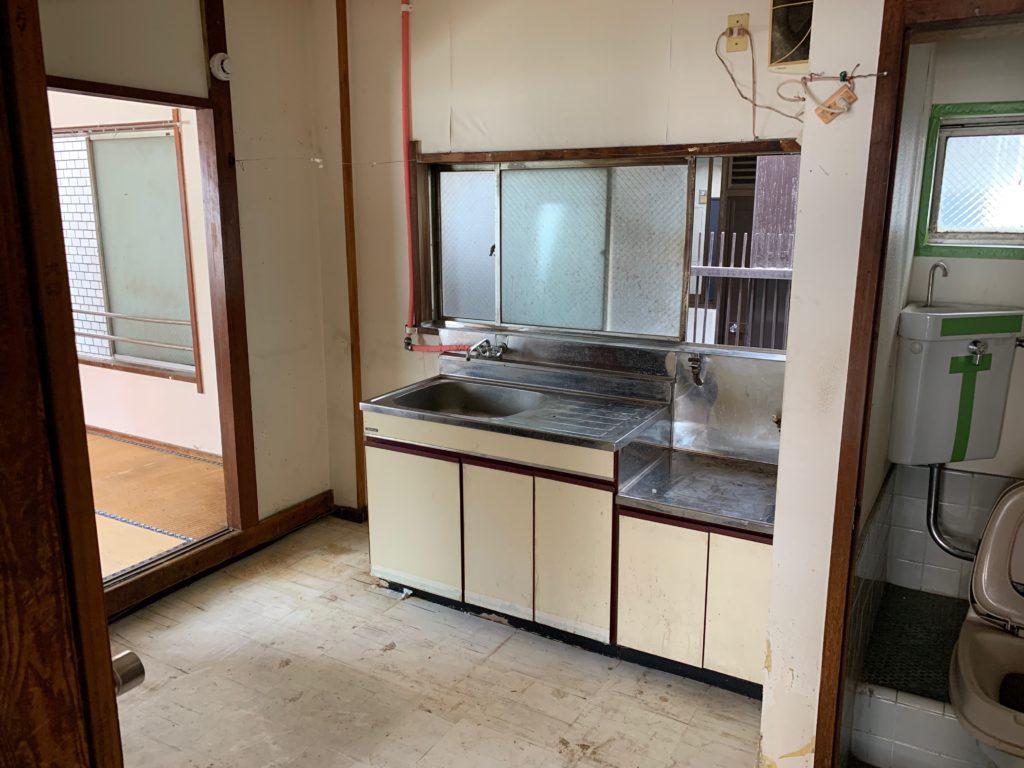 残置物処分の回収撤去後の写真(世田谷区)(3Fキッチン)