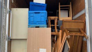 渋谷区の保険代理店の事務所閉鎖の為の処分回収