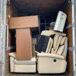 2トンアルミバンでのお引越し前の不用品回収の写真(港区)