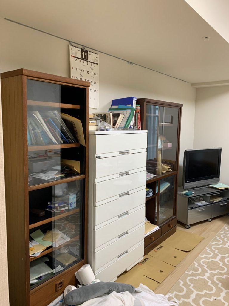 渋谷区の1Kのお部屋の残置物処分前の写真2