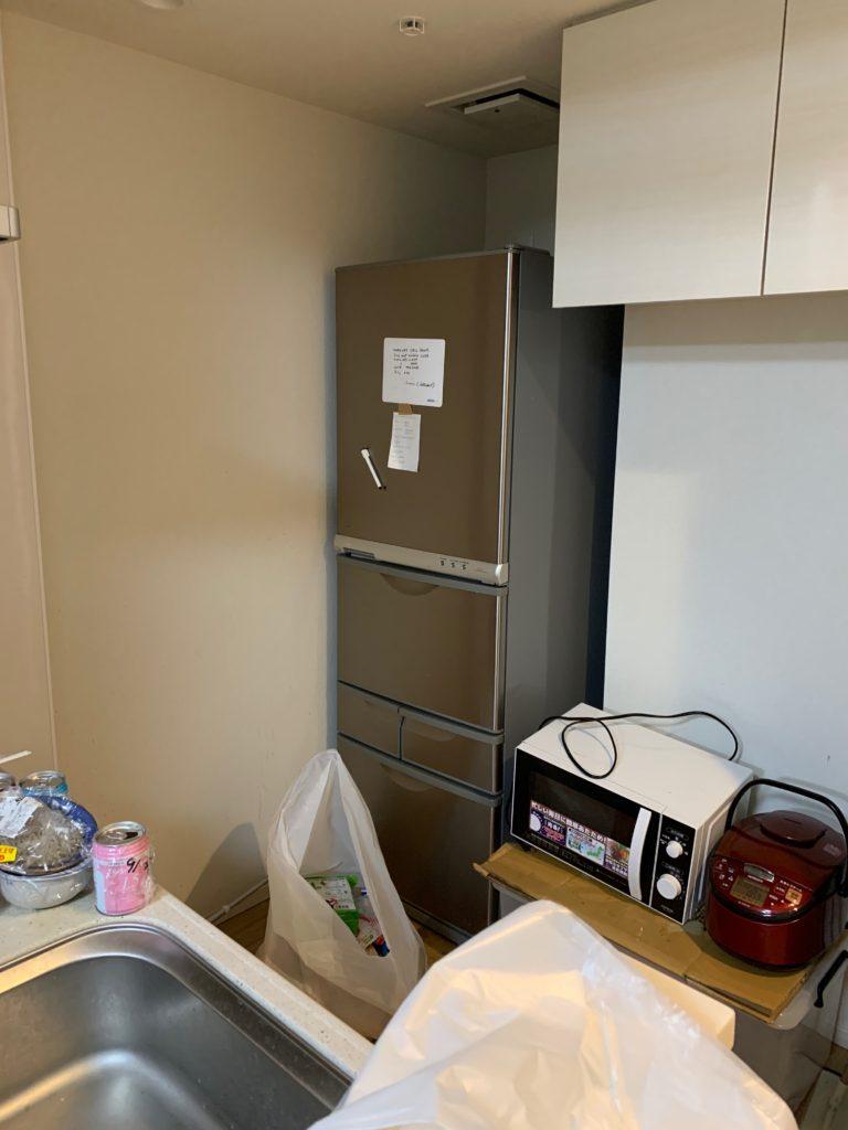 渋谷区の1Kのお部屋の残置物処分前の写真3