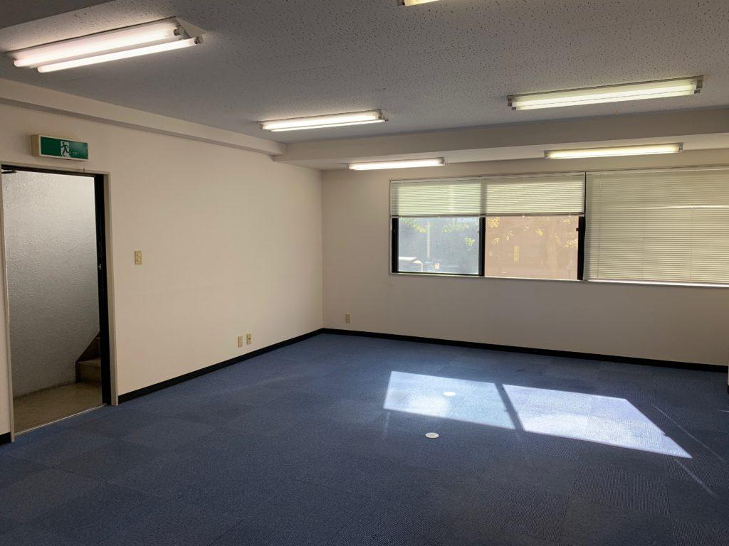 オフィス(事務所)のオフィス家具等の撤去後1