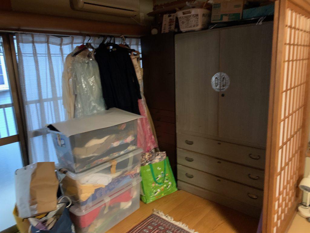 品川区の二階建て一軒家の残置物処分(遺品整理)前の写真12