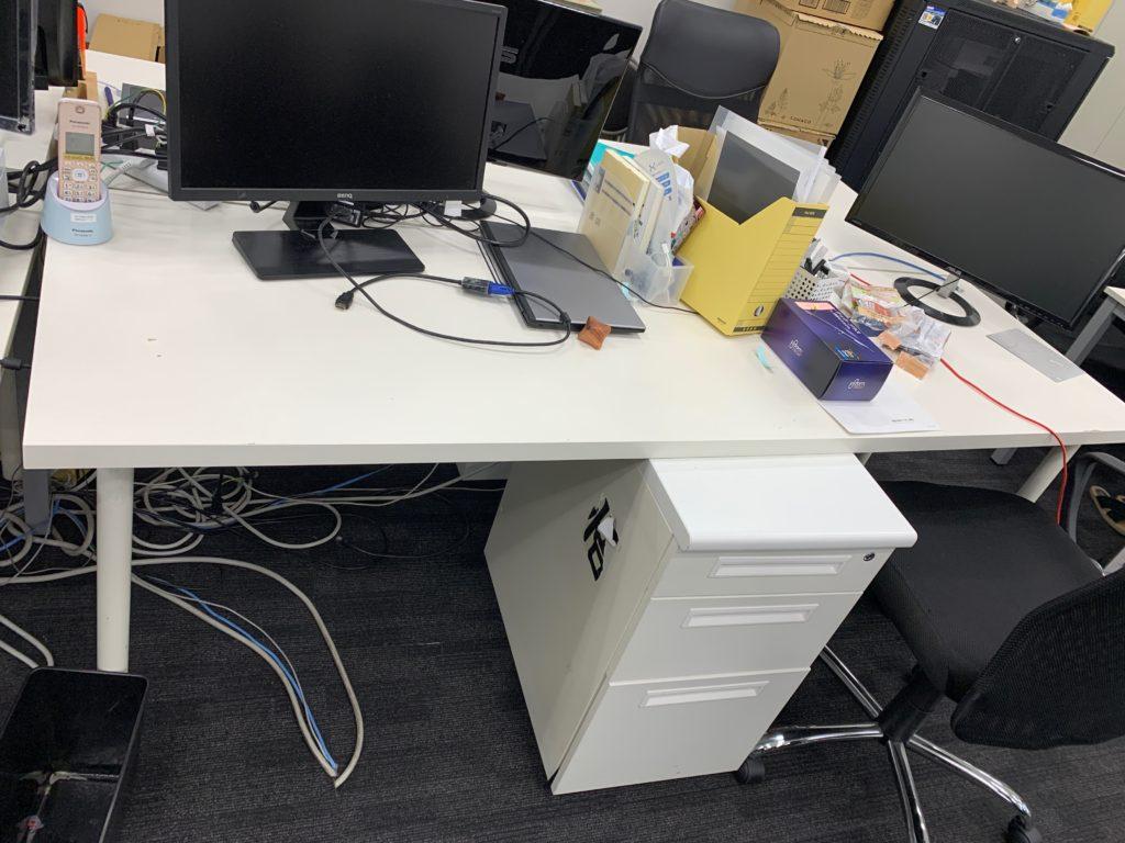 オフィス移転の為、旧オフィスのオフィス家具等を回収(港区)の写真21