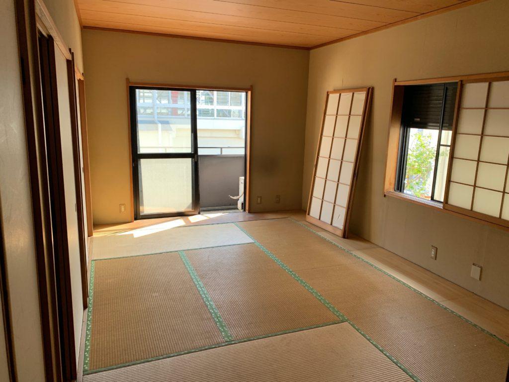 大田区三階建一軒家の残置物処分の写真8