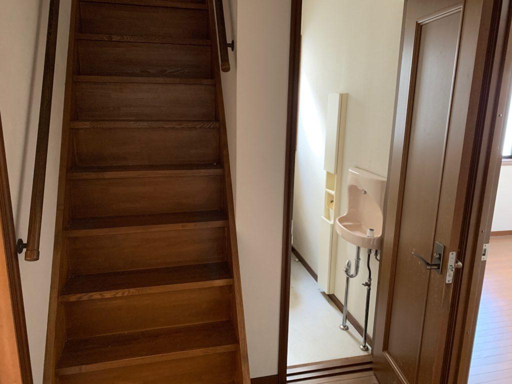 大田区三階建一軒家の残置物処分の写真6