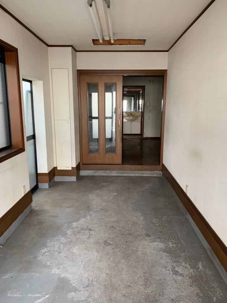 大田区三階建一軒家の残置物処分の写真2