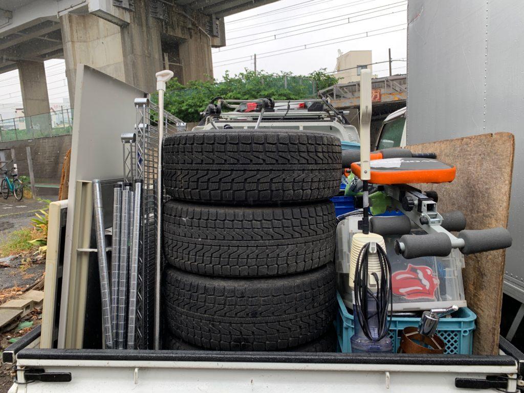 ご自宅の不用品を軽トラック一杯パックにて回収(大田区)の写真1