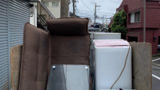 軽トラック一杯パックにて単身引越前の不用品を回収(品川区)の写真1