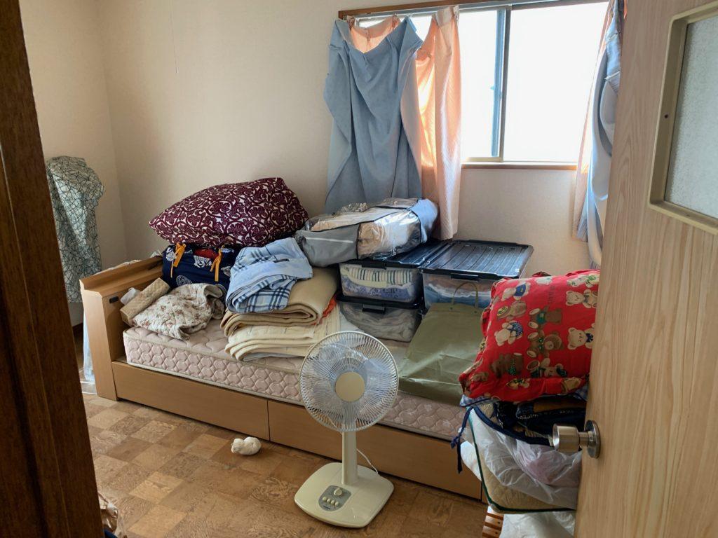 残置物処分前の写真(2F部屋1)品川区