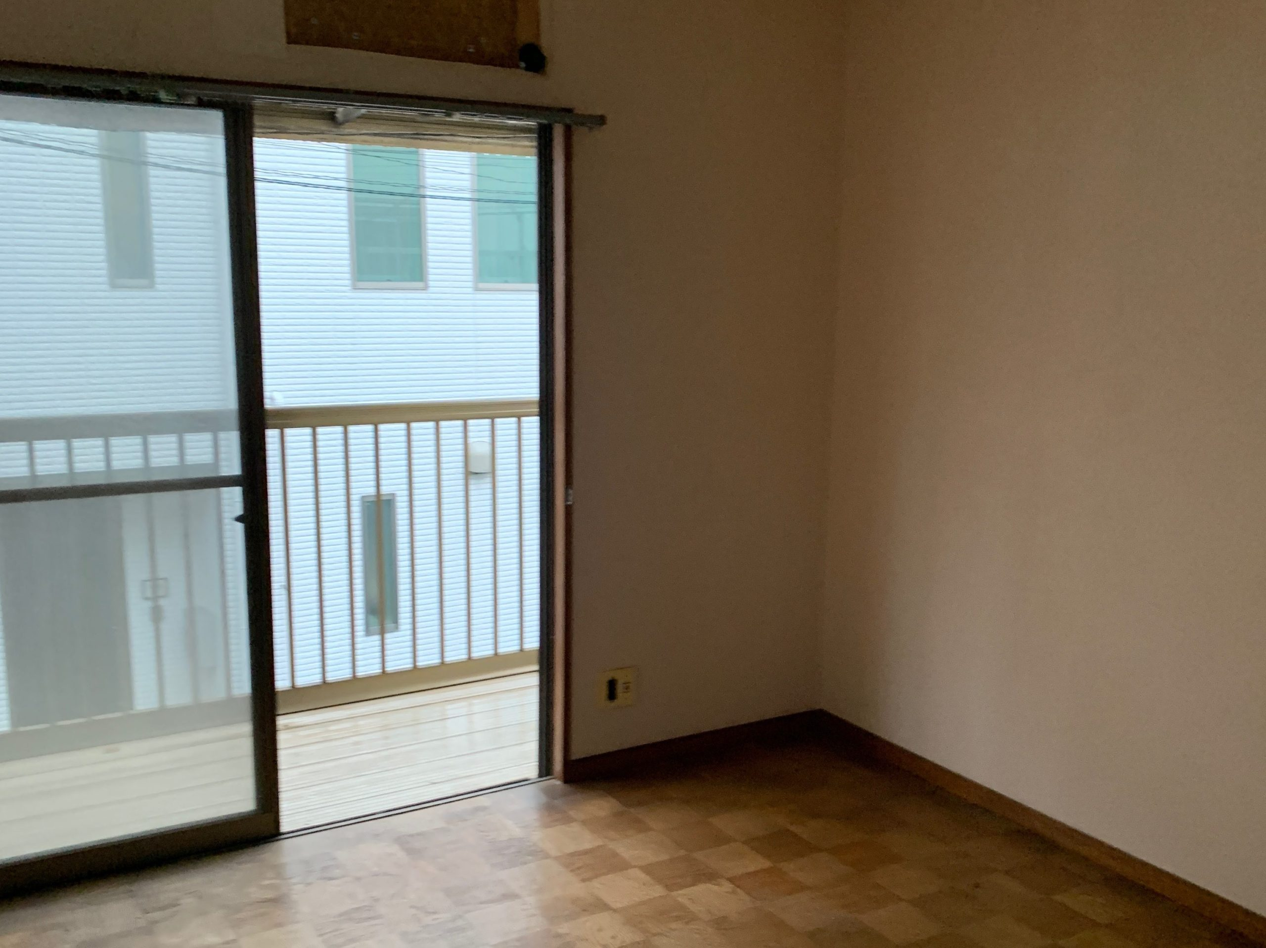残置物処分後の写真(2F部屋1)品川区
