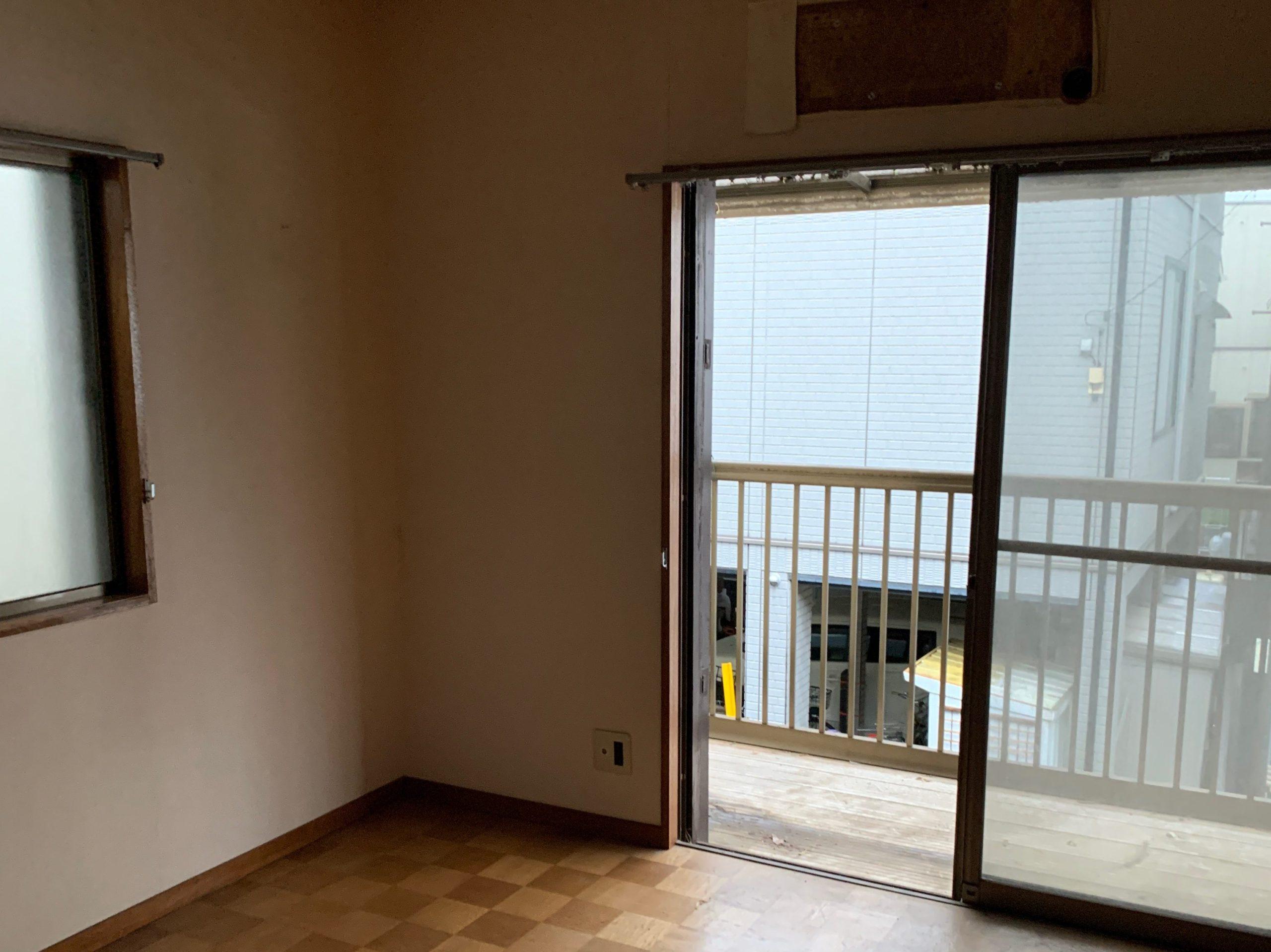 残置物処分後の写真(2F部屋2)品川区