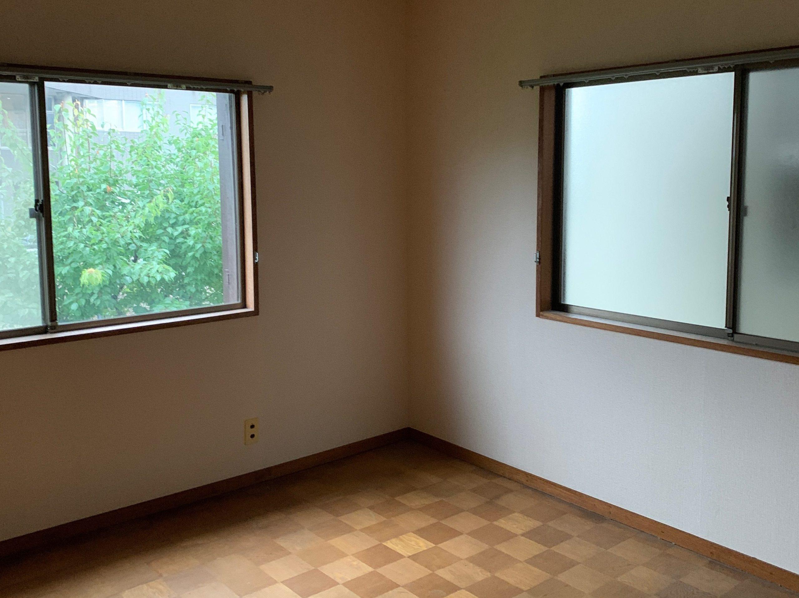 残置物処分後の写真(2F部屋3)品川区