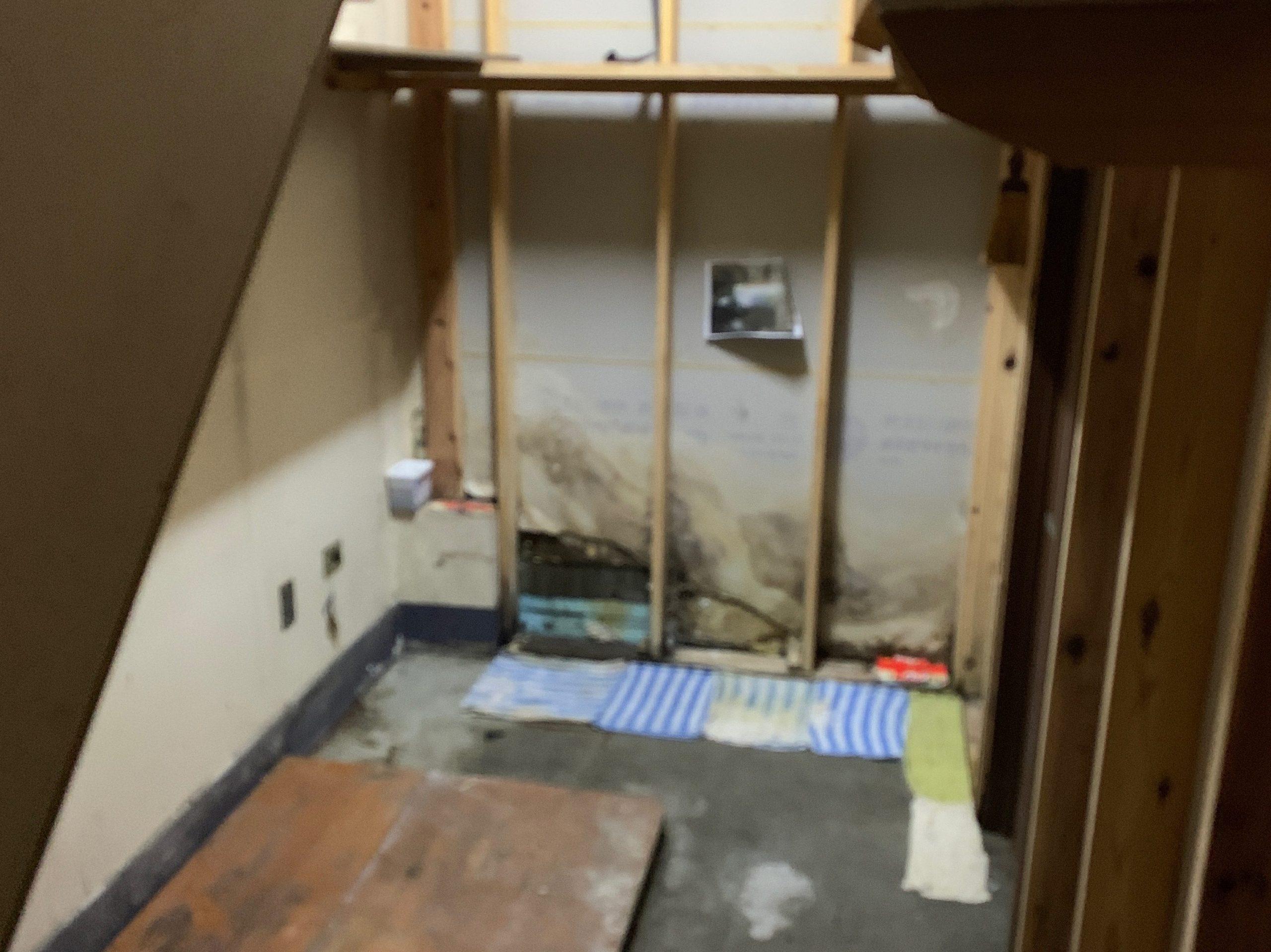 一軒家の残置処分後の写真(一階倉庫)品川区