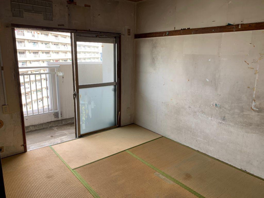 都営住宅の残置物処分(生前整理)後の写真(部屋1)目黒区
