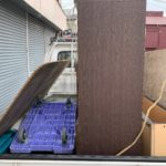 ベット枠とレンジラックの回収の写真(品川区)