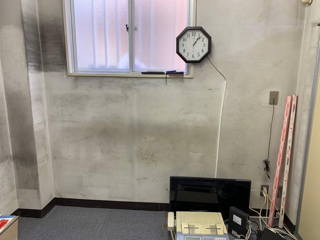 閉業のためオフィス什器などの撤去後の写真3(品川区)